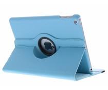 Lichtblauw 360° draaibare tablethoes iPad (2017)