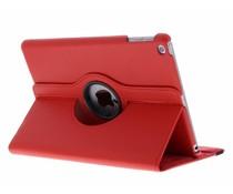 Rood 360° draaibare tablethoes iPad (2017)
