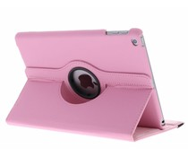 Roze 360° draaibare tablethoes iPad (2017)