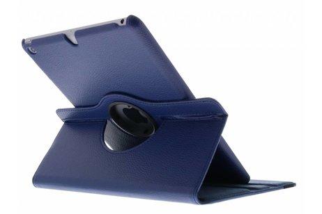 Blauwe 360° draaibare tablethoes voor de iPad (2018) / (2017)