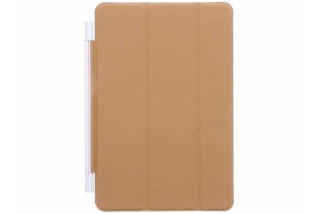 Bruine smart cover voor de iPad (2018) / (2017)