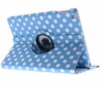 360° draaibare polka dot tablethoes iPad (2018) / (2017)