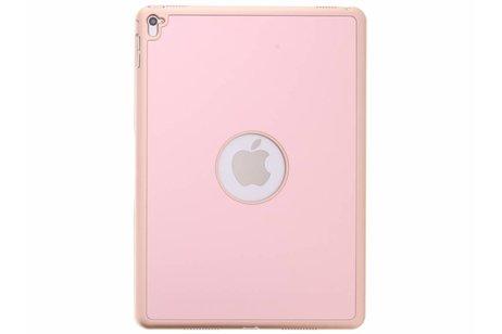 Rosé Gouden Bluetooth Keyboard Hardcase voor de iPad Air 2 / iPad Pro 9.7