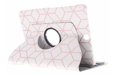 Samsung Galaxy Tab S2 9.7 hoesje - 360° draaibare cubes design