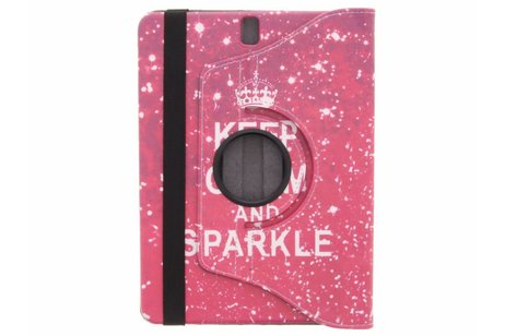 Samsung Galaxy Tab S3 9.7 hoesje - 360° draaibare sparkle design