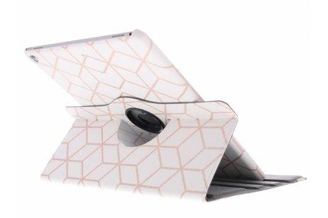 iPad Pro 12.9 hoesje - 360° draaibare cubes design