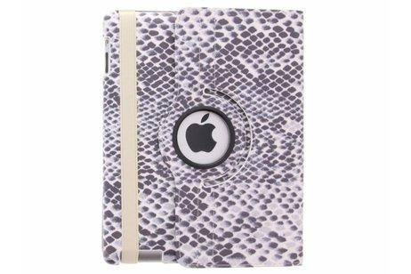 360° draaibare slangen design tablethoes voor de iPad 2 / 3 / 4