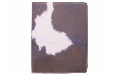 360° draaibare koe design tablethoes voor de iPad 2 / 3 / 4