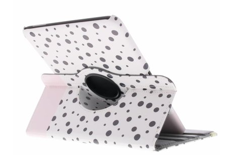 Samsung Galaxy Tab 4 10.1 hoesje - 360° draaibare spikkel design