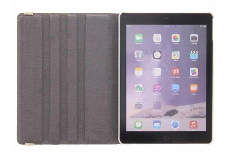 iPad Air 2 hoesje - 360° draaibare flamingo design