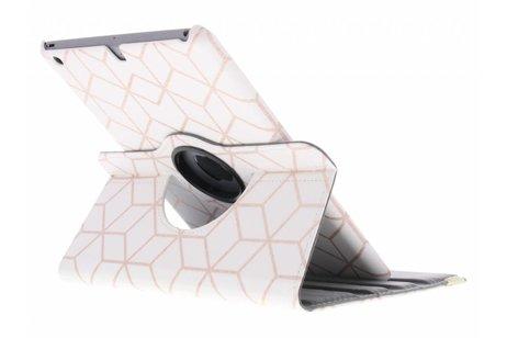 iPad Air hoesje - 360° draaibare cubes design