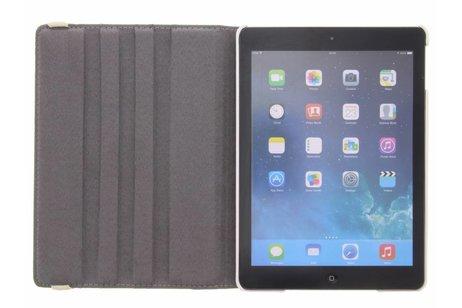 iPad Air hoesje - 360° draaibare bloemen design
