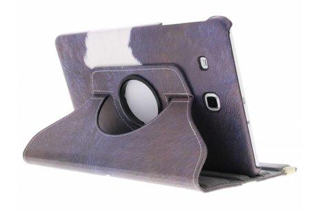 Samsung Galaxy Tab E 9.6 hoesje - 360° draaibare koe design