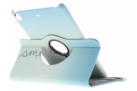 iPad Pro 7.9 hoesje - 360° draaibare smile design