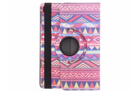iPad Pro 7.9 hoesje - 360° draaibare aztec design