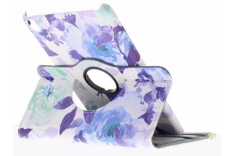 hoesje - 360° draaibare bloemen design
