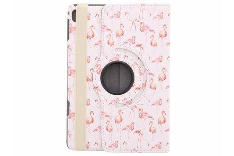 hoesje - 360° draaibare flamingo design