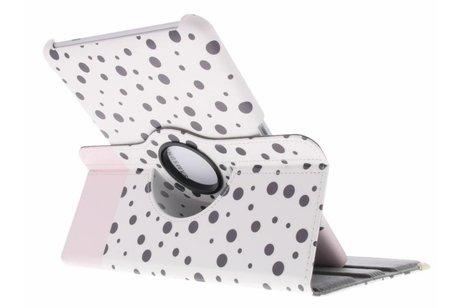 Samsung Galaxy Tab 2 10.1 hoesje - 360° draaibare spikkel design