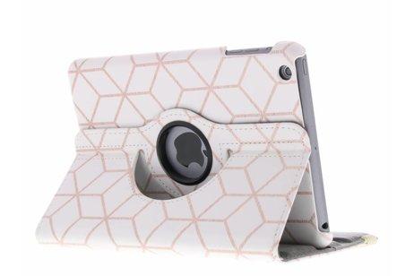 360º draaibare cubes design tablethoes voor de iPad Mini / 2 / 3
