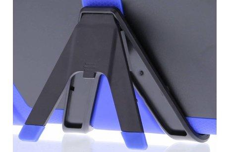iPad (2017) hoesje - Blauwe extreme protection army