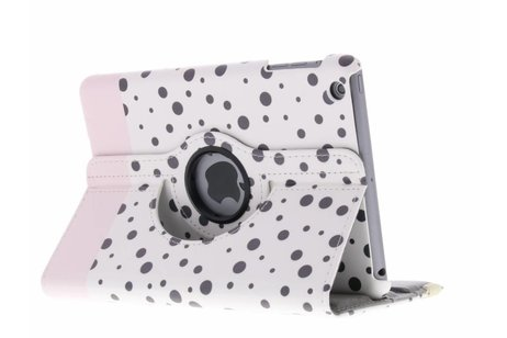 360º draaibare spikkel design tablethoes voor de iPad Mini / 2 / 3