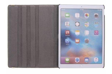 iPad Pro 12.9 hoesje - 360° draaibare koe design