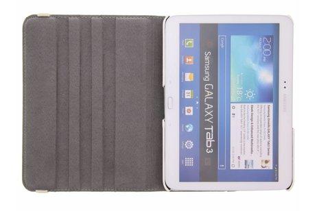 Samsung Galaxy Tab 3 10.1 hoesje - 360° draaibare slangen design