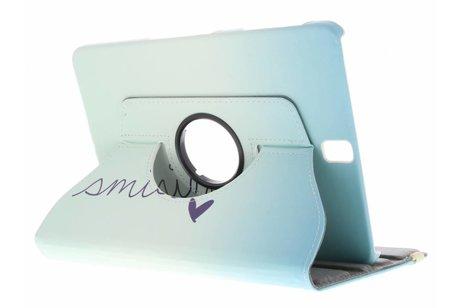 Samsung Galaxy Tab S3 9.7 hoesje - 360° draaibare smile design