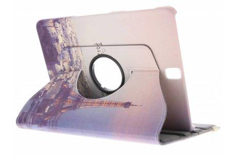 Samsung Galaxy Tab S3 9.7 hoesje - 360° draaibare eiffeltoren design