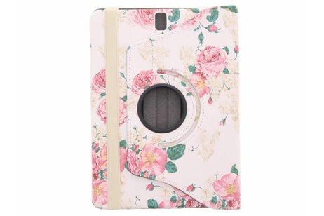 Samsung Galaxy Tab S3 9.7 hoesje - 360° draaibare rozen design