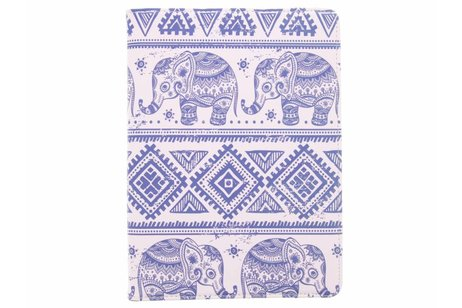 Samsung Galaxy Tab S3 9.7 hoesje - 360° draaibare olifanten design