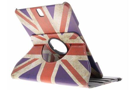 Samsung Galaxy Tab S3 9.7 hoesje - 360° draaibare britse vlag