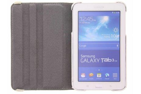 Samsung Galaxy Tab 3 Lite 7.0 hoesje - 360° draaibare spikkel design
