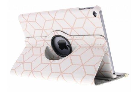 iPad Air 2 hoesje - 360° draaibare cubes design