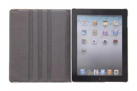 360° draaibare cubes design hoes voor de iPad 2 / 3 / 4