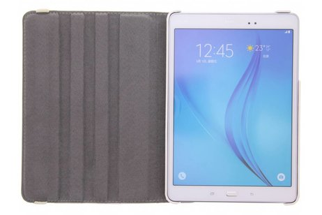 Samsung Galaxy Tab A 9.7 hoesje - 360° draaibare spikkel design