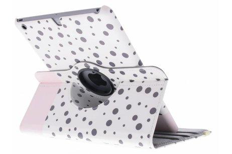 iPad Air hoesje - 360° draaibare spikkel design