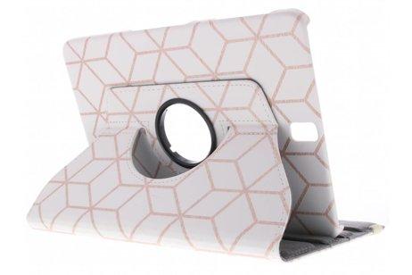 Samsung Galaxy Tab A 9.7 hoesje - 360° draaibare cubes design