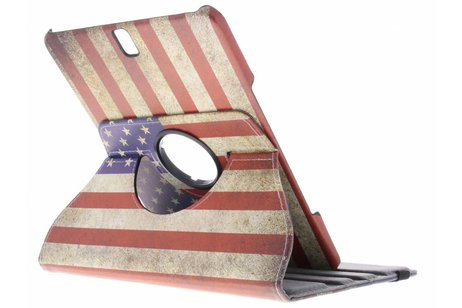Samsung Galaxy Tab A 9.7 hoesje - 360° draaibare Amerikaanse vlag