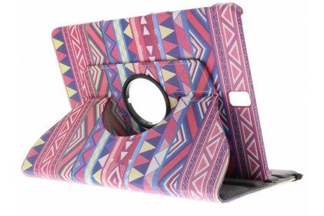 Samsung Galaxy Tab S3 9.7 hoesje - 360° draaibare aztec design