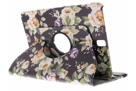 Samsung Galaxy Tab A 9.7 hoesje - 360° draaibare bloemen design