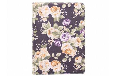 Samsung Galaxy Tab S3 9.7 hoesje - 360° draaibare bloemen design