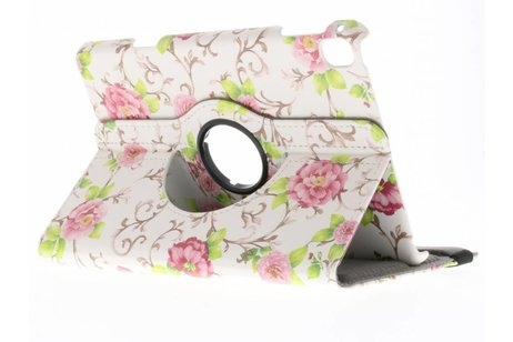 iPad Pro 7.9 hoesje - 360° draaibare rozen design