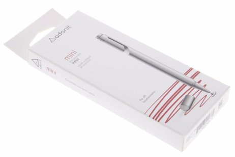 Adonit Zilveren Mini stylus pen