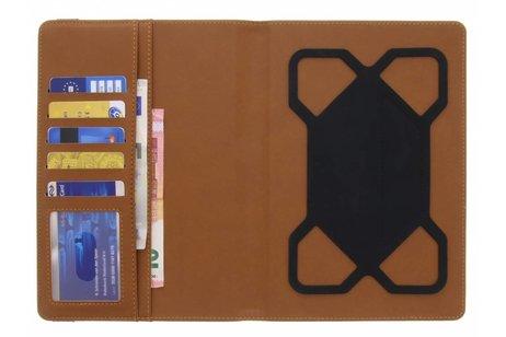 Zwarte Universele Wallet Stand Case 7-8 inch