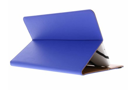 Blauwe Universele Wallet Stand Case voor 9-10 inch tablets