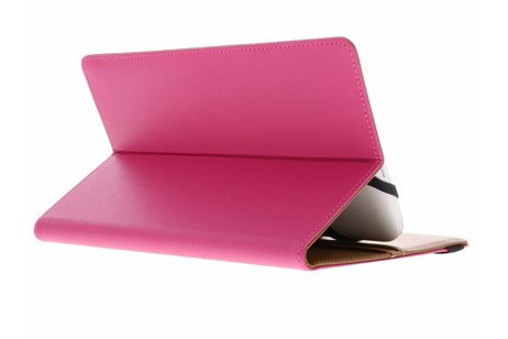 Fuchsia Universele Wallet Stand Case 7-8 inch