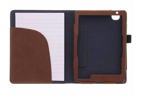 Kobo Aura Edition 2 hoesje - Bruine luxe effen book