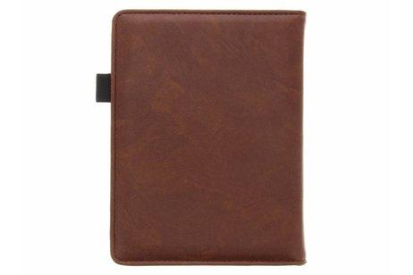 Kobo Touch 2.0 hoesje - Bruine luxe effen book