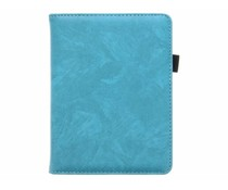 Turquoise luxe effen book case Kobo Touch 2.0